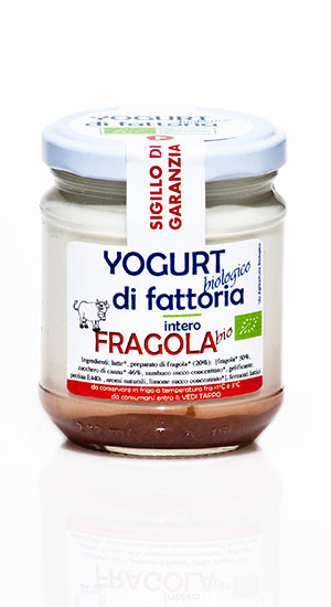 yogurt fragola