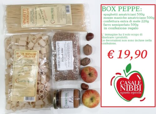 BOX PEPPE